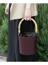MARCO BIANCHINI bamboo handle bag