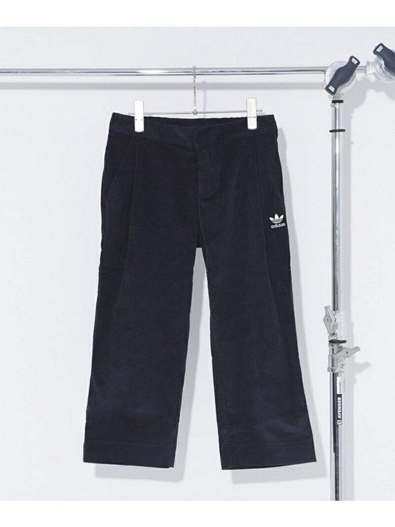 adidas CORDUROY PANT ナノユニバース パンツ/ジーンズ【送料無料】
