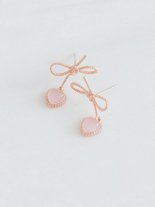 【Ruby's Collection】リボンデザインプチピアス