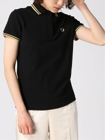 Ray BEAMS FRED PERRY / Twin Tipped ポロシャツ ビームス ウイメン カットソー ポロシャツ ブラック グリーン【送料無料】