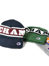 CHAMPION×SHIPSJETBLUE:別注ロゴビーニー
