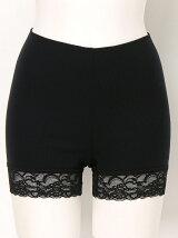 RIB STITCH Lace Short Pants