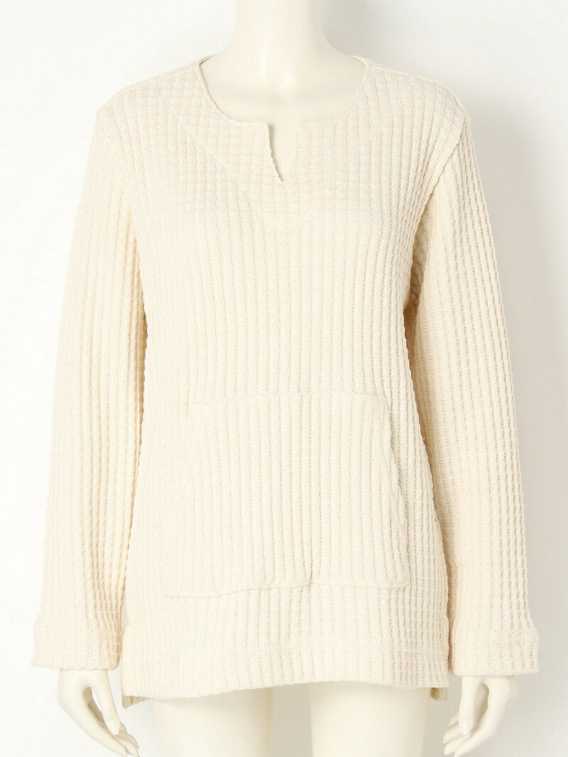 【SALE/45%OFF】TODAYFUL Waffle Pullover トゥデイフル カットソー【RBA_S】【RBA_E】【送料無料】