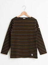 ORCIVALボーダーバスクシャツ