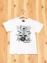 L.COPECK/エルコベック スカル×バンドTシャツ