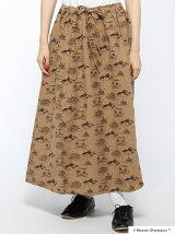 ムーミン海柄ギャザースカート