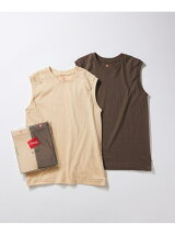 【Hanes for BIOTOP】Sleeveless T-Shirts/color