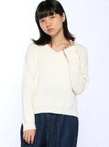 【BROWNY STANDARD】(L)Vネックセーター