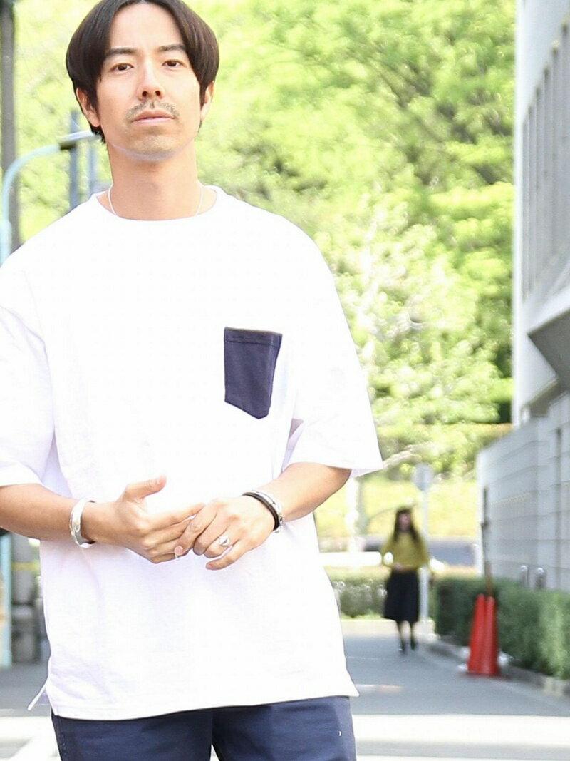 coen USAコットンビッグシルエットクルーネックTシャツ(一部WEB限定カラー) コーエン カットソー