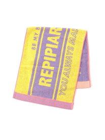 【SALE/25%OFF】repipi armario フェイスタオル71SS レピピアルマリオ スポーツ/水着 スポーツグッズ イエロー グリーン ブルー ピンク パープル