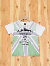 L.COPECK/エルコベック 裏プリントユニオンジャックTシャツ