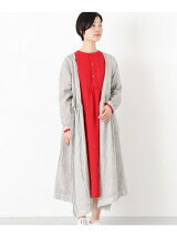 ICHI Antiquites linen handdye one-piece