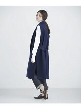 SHAWL BELTED GILET
