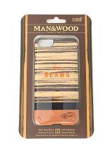 MAN&WOOD×BEAMS / iPhone7 ケース