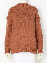 Highneck Hand Knit