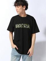 LINE CAMOLOGO Tシャツ