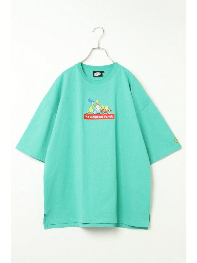 VENCE share style MENs シンプソンズシシュウBIGTシャツ ヴァンス エクスチェンジ カットソー