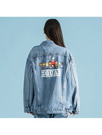【SALE/50%OFF】Levi's バギートラッカージャケットPEANUTSSQUAD リーバイス カットソー Tシャツ【送料無料】