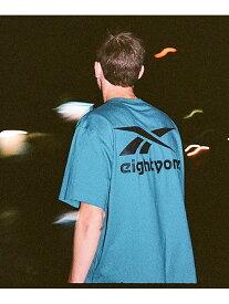 【SALE/50%OFF】Reebok Classic 【Reebok eightyone】エイティワン Tシャツ [eightyone Tee] リーボック カットソー Tシャツ ブルー ホワイト