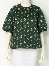FLOWER PRINTED BLOUSE