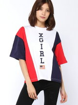 TRI-COLOR BIG S/S TEE