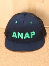 ANAPKIDS3D刺繍ロゴメッシュCAP