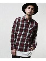 GFオンブレーシャツ