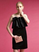 LadyフォルムフリルBOXドレス