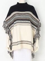 Jacquard Fringe Knit