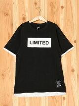 天竺バックバイクプリント半袖Tシャツ