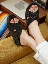 (W)RITZY SLIDE SANDALS