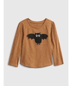 【SALE/24%OFF】GAP (K)インタラクティブグラフィックTシャツ (幼児) ギャップ カットソー キッズカットソー ブラウン ブラック