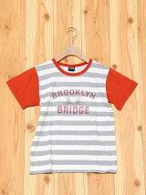 L.COPECK/(K)エルコベック ボーダーアメカジTシャツ