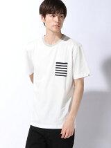【BROWNY】(M)ニットポケTシャツ