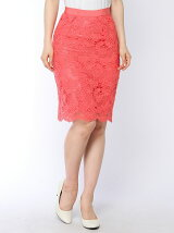花レースタイトスカート