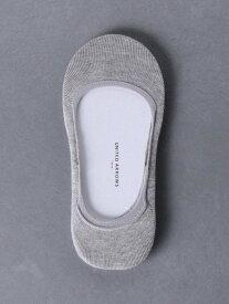 UNITED ARROWS UWSCフットカバーソックス2PC2 ユナイテッドアローズ ファッショングッズ ソックス/靴下 グレー ホワイト ブラック