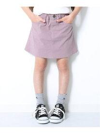 devirock ウルトラストレッチミニスカート 女の子 ボトムス スカート デビロックストア 子供服 キッズ デビロック スカート ミニスカート パープル カーキ ピンク グレー ブラック ベージュ