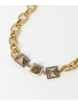 LULU FROST PYRAMIDES NECKLACE