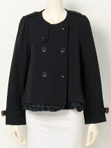 franche lippee black/秋トレンチショートCO