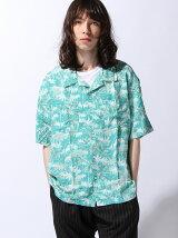 (M)リゾートオープンカラーシャツ