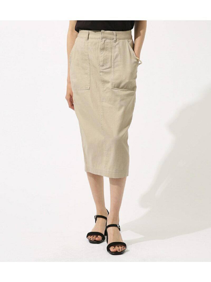 【SALE/50%OFF】AZUL by moussy 《WEB限定価格》パッチポケットタイトスカート アズールバイマウジー スカート【RBA_S】【RBA_E】
