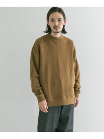【SALE/20%OFF】URBAN RESEARCH 【別注】good wear*URBAN RESEARCH モックスウェット アーバンリサーチ カットソー スウェット ブラウン グレー グリーン【送料無料】