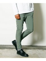 ALPINE CLOTH ZIP SHIRRING PANTS
