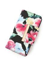 手帳型花柄 iphoneケース