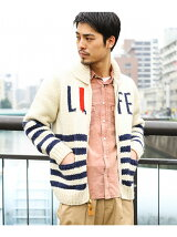 CANADIAN SWEATER 別注LIFE STRIPE SWEATER