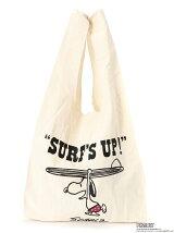 スヌーピーマルシェバッグ Surf's Up