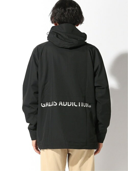 GALLISADDICTION/GA ANORAK PARKA