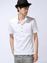 カルゼフウイタリアンカラーポロシャツ