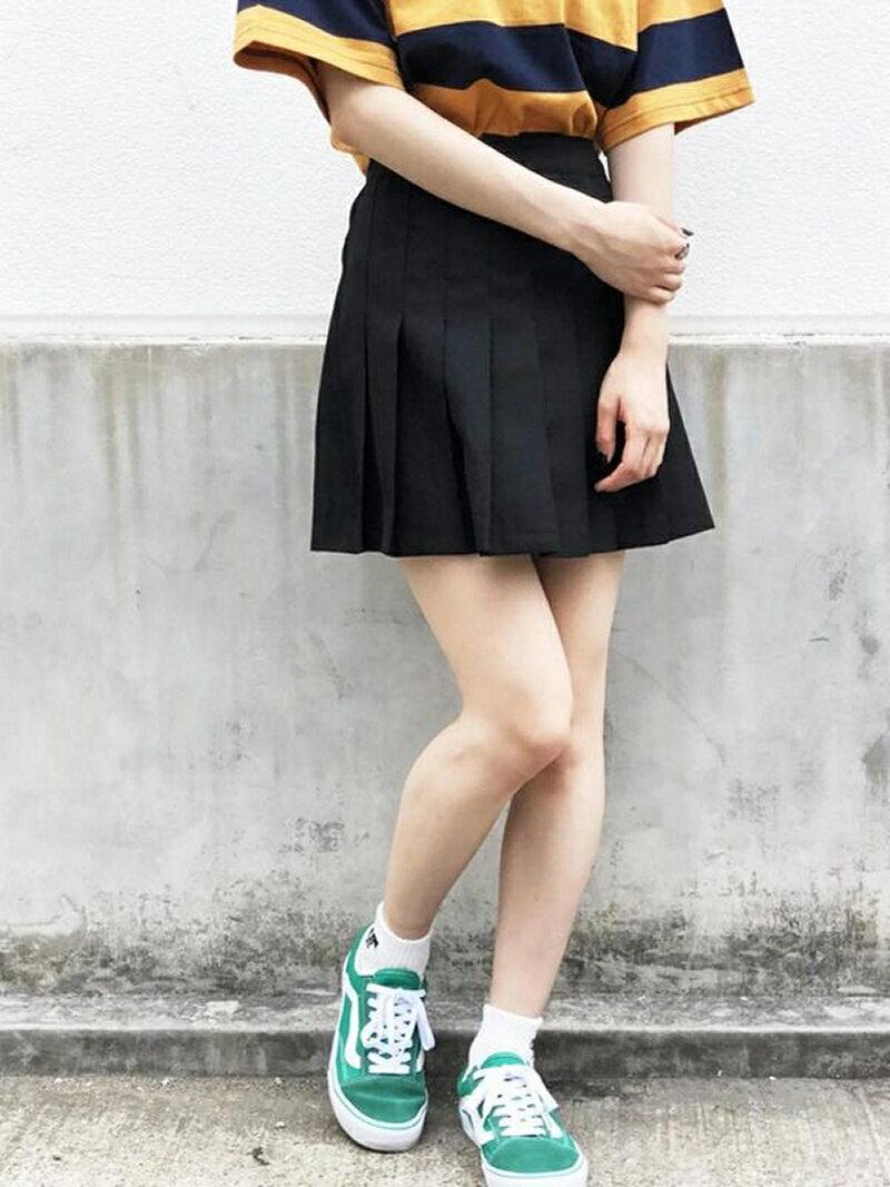 BROWNY STANDARD BROWNY STANDARD/(L)プリーツミニスカート ウィゴー スカート