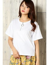 (L)サークルZIPTシャツ